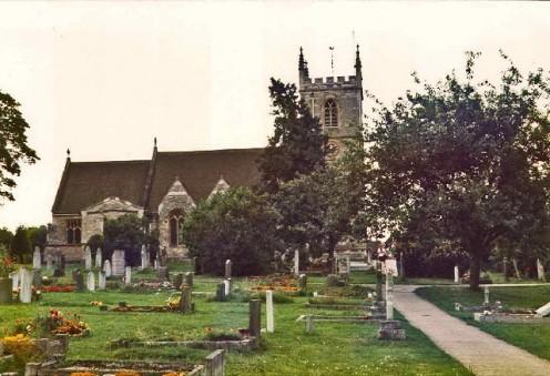 St Martin's Church, Bladon, Oxfordshire