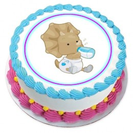 Baby Shower themed edible Cake Stickers