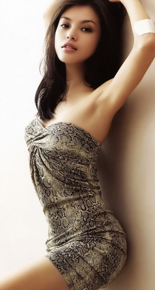 Malaysian actress/model Carmen Soo has talent as well as abundant allure.