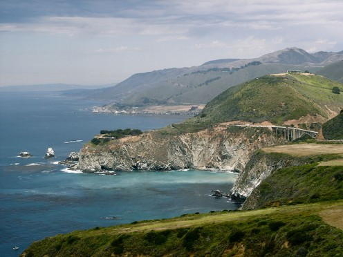 Big Sur Pacfic Coast and the Bixby Bridge