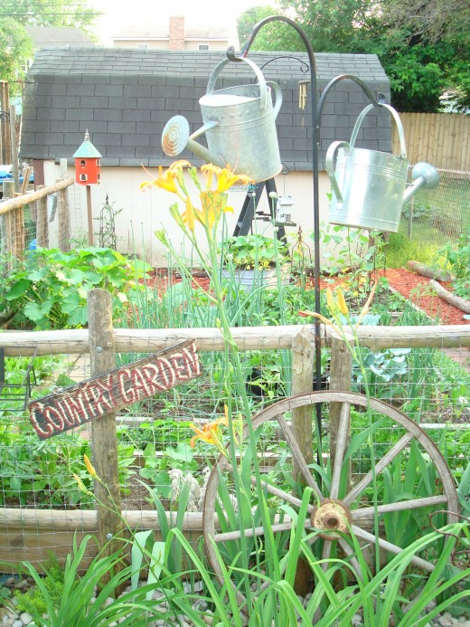 Anyone can create a country garden