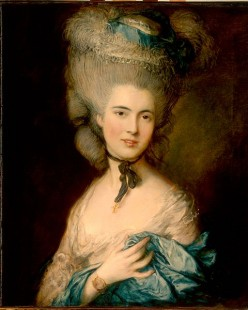 "Thomas Gainsborough, ""Woman in Blue"""