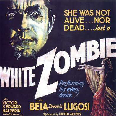 Promotional poster for White Zombie