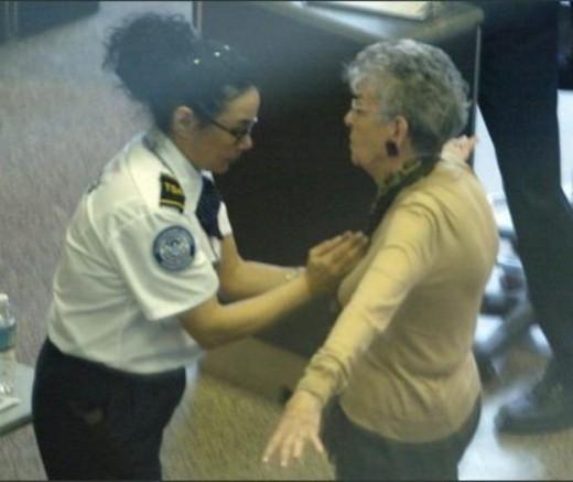 Grandma getting molested