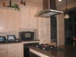 Antique style custom made cabinets