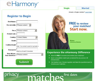 One of the most popular dating websites.