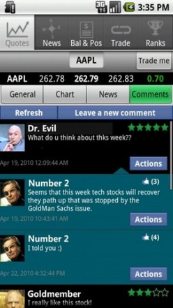 Stock Market Games for Android