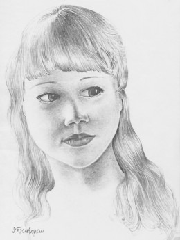 Unnamed pencil drawing by the author