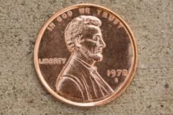 Shiny Penny On The Floor