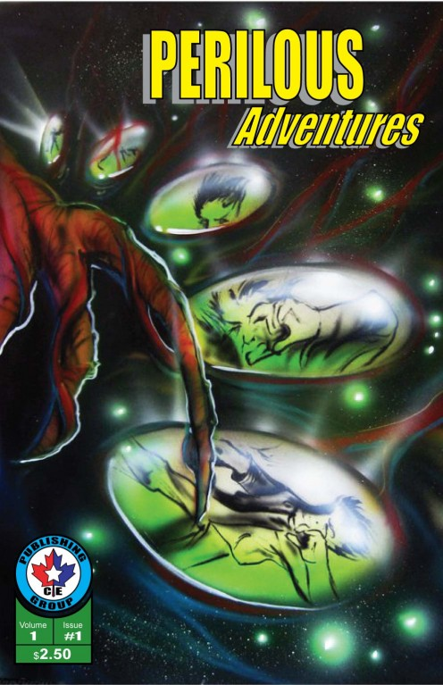 My latest publication.  This is an all out adventure, horror, mystery and science fiction action comic book.