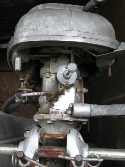 Tank Sits Above Carburetor