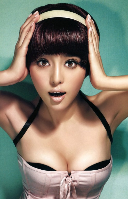 Chinese actress and singer is quirky and edgy while still being lovely and sexy.