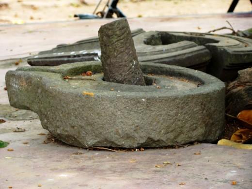 Ancient Shiva Lingam with Gauripatta