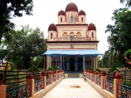 The front view of Bramhamoyee temple (1829 A.D.)