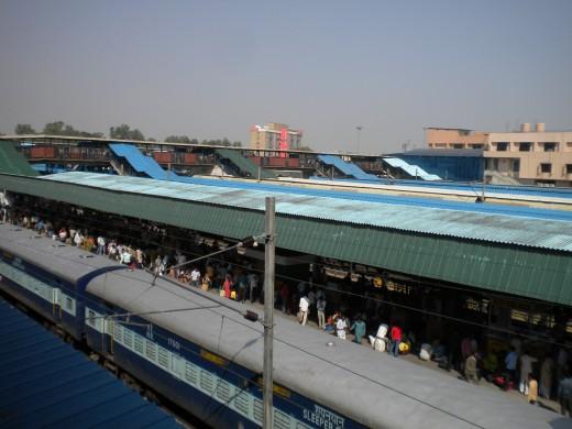 Train Station in Delhi