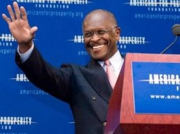 Businessman and GOP hopeful, Herman Cain