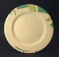 Clarice Cliff art deco plate