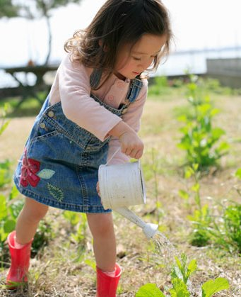 Nature is your child's biggest teacher. Teach gardening to your children so that they can be one with nature.