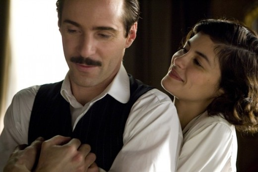 Coco and Boy: Alessandro Nivola stars as Arthur Capel and Audrey Tautou stars as Coco Chanel in Sony Pictures Classics' Coco Before Chanel (2009)