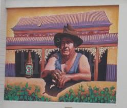 Ocker mural