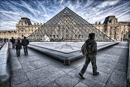 Another shot of Louvre Paris