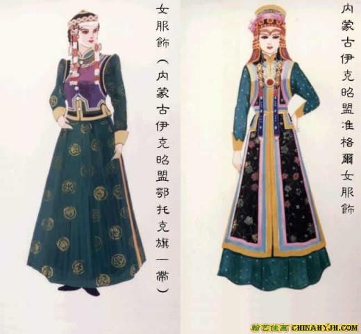 Mogolian marksmanship costume