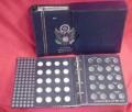 organized coin album
