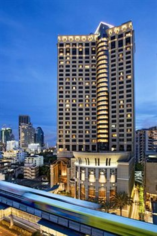 Sheraton Grand - A 5 star hotel on Sukhumvit road