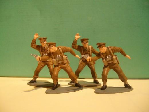 Airfix British Officers WW2