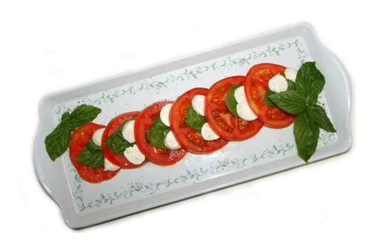 A delicious Caprese Salad makes a great appetizer for any meal or enjoy it anytime as a healthy snack.