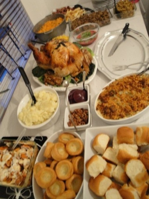 A Thanksgiving feast is wonderful, however, make sure you don't overeat fattening and overly processed foods.