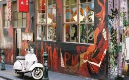 One of the upmarket eateries on Hoiser Lane, Melbourne CBD