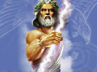 Modern Visualization Of Ancient Greek God, Zeus (Image from Age of Mythology, Ensemble Studios)
