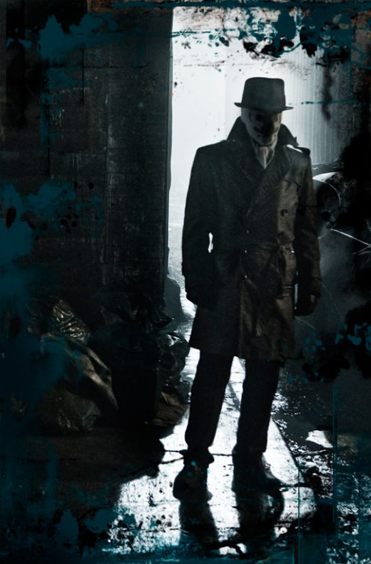 Rorschach as played by Jackie Earle Haley