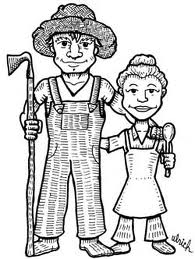 Farmer Roy and his wife.