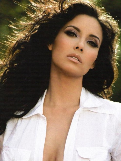 Mexican weather girl Sugey Abrego has used her beauty to become a model.