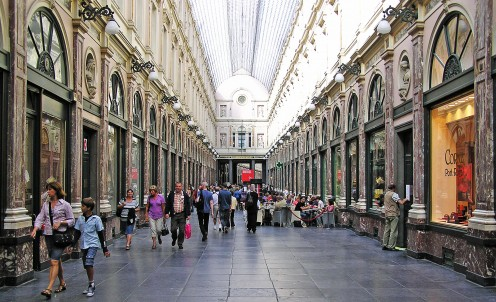 Royal St Hubert Galleries, Brussels