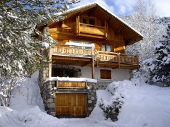 Chalet Amandier - catered chalet - great for a family ski week - contact Zenith Holidays