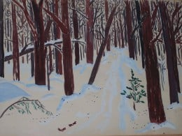 My Woods Painting