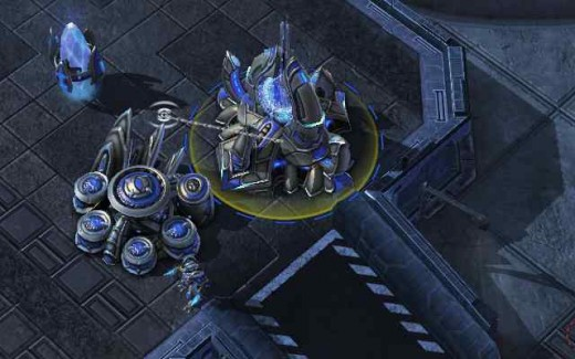 Protoss Wall-Off (Zealot on Hold Position)