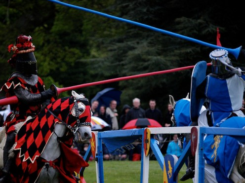 Jousting by Capo2