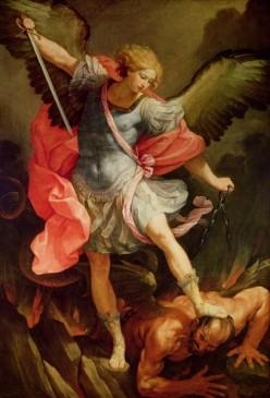 Angel Michael by Guido Reni