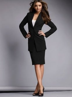 semi formal professional / business attire at the office, bodysuit, shirt, skirt and more (for women)