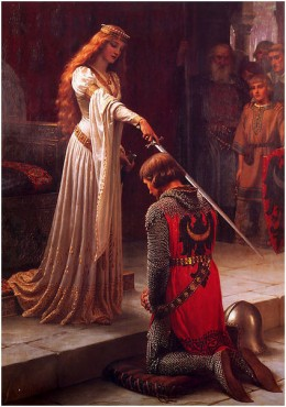 The Accolade by Edmund Blair Leighton, 1901 by  New Visions2010