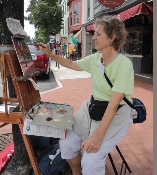 Artisan Patricia Walach Keough of Carlisle, Pa.