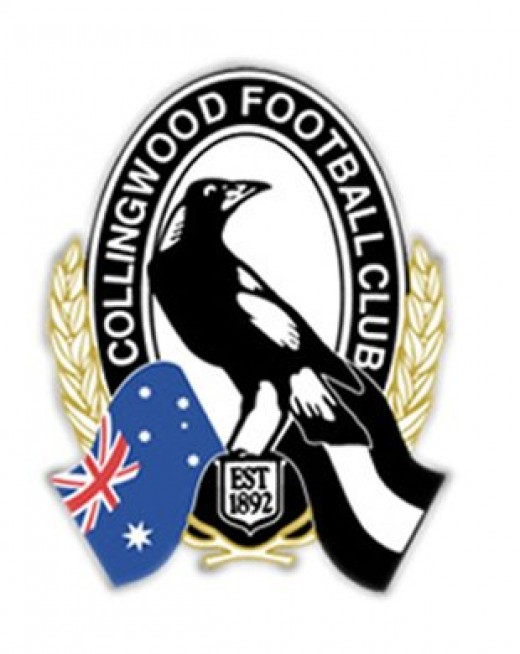 Collingwood Magpies logo, winner of the 2010 AFL Premiership