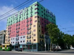 One of the many student accommodations in Carlton
