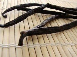 Vanilla Beans - dried and ready for culinary use.