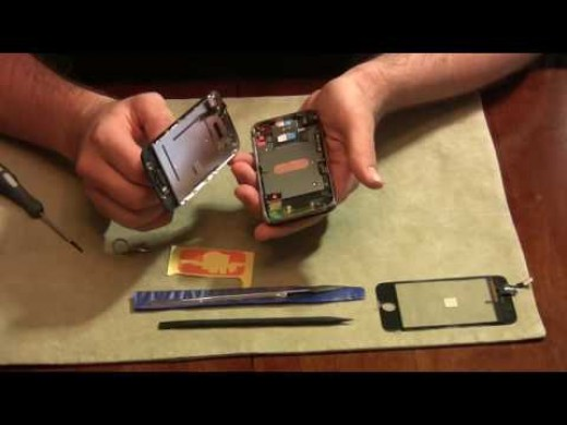 how to fix a broken phone screen at home