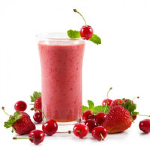Smoothies are satisfying low fat snacks